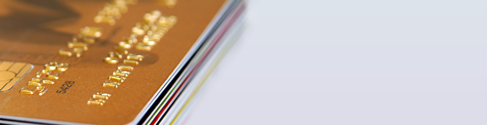 Plastic Card Picture - Closeup