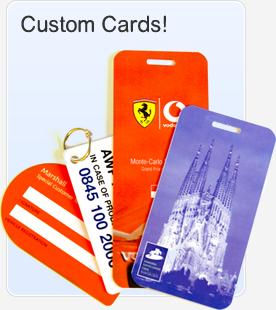 Custom Plastic Card Designs
